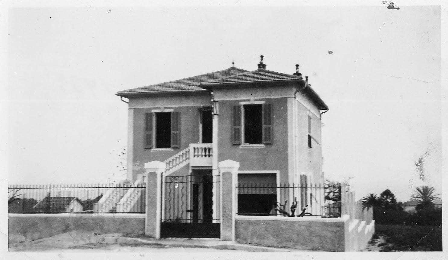 L Croix du Sud, première maison construite dans le lotissement