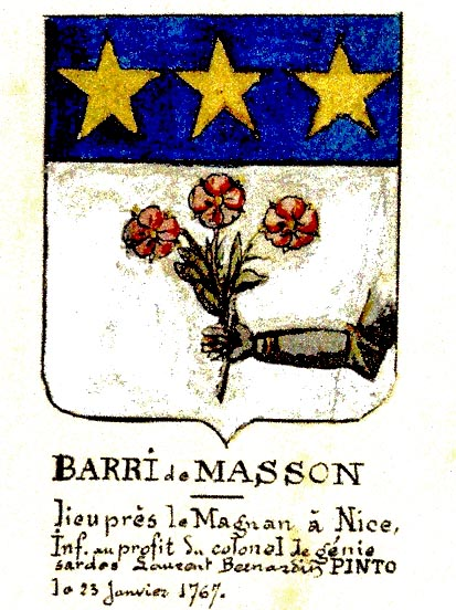 Blason p.40 Bibliotheque municipale Ville de Nice