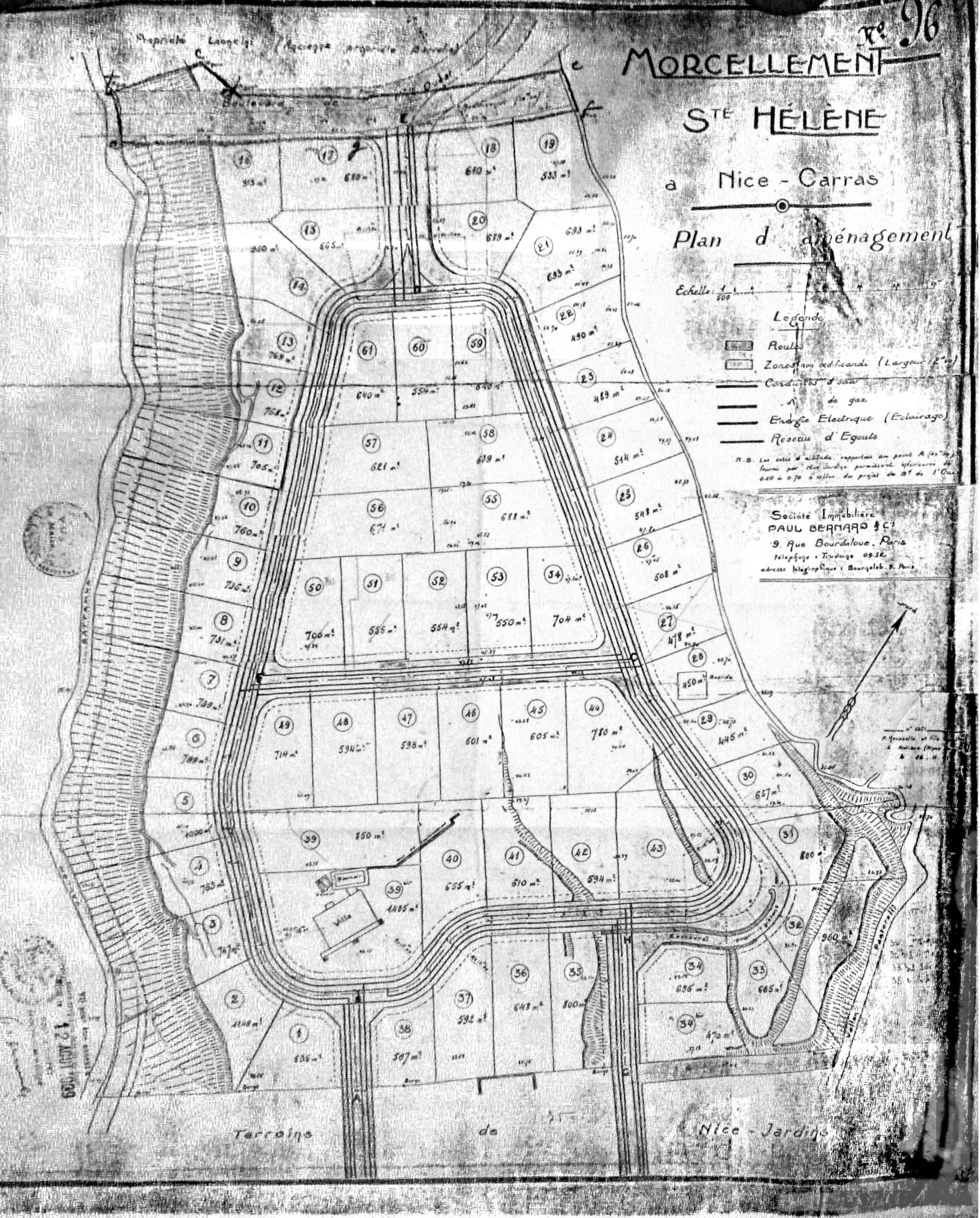 plan origine 1929